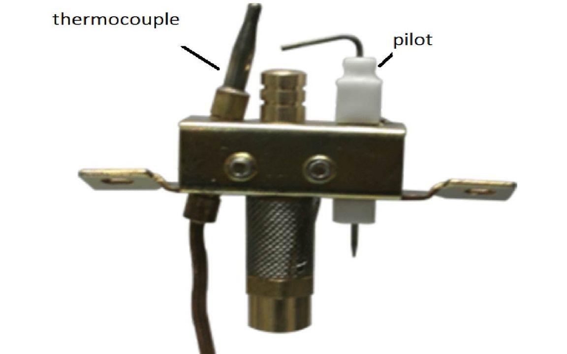 نقش پیلوت و ترموکوپل در شیر کنترل بخاری گازی