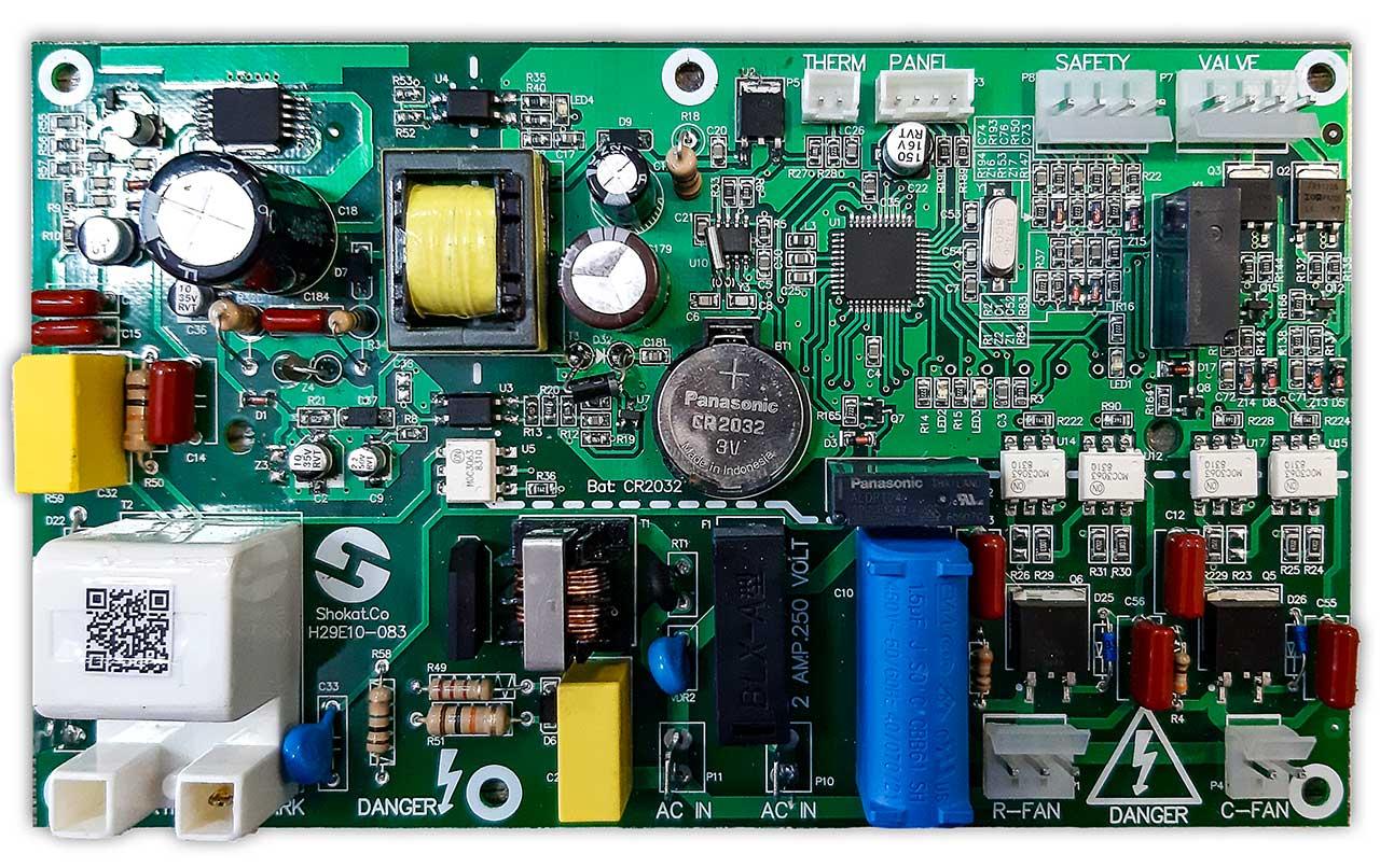 بورد الکترونیکی SH27-EL-01